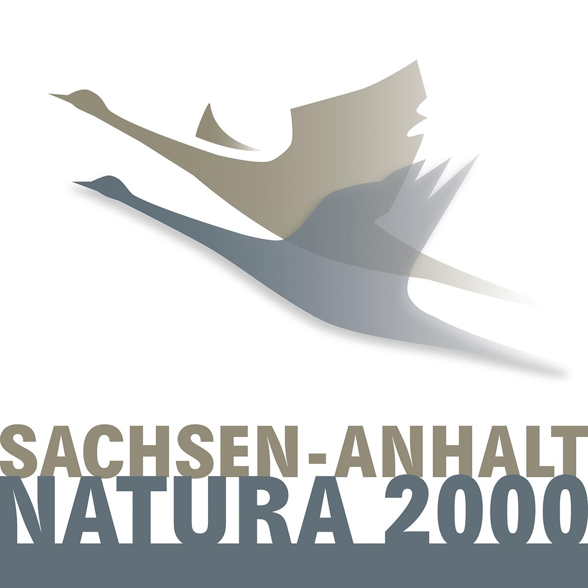 Natura 2000-Logo für Sachsen-Anhalt