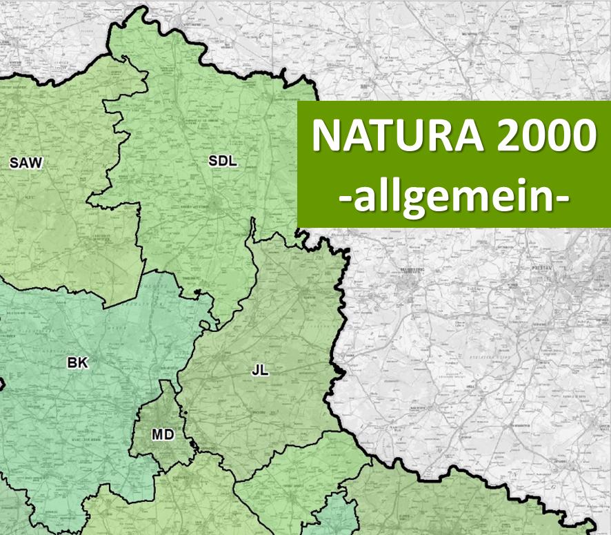 Interaktive Karte - Natura 2000 (allgemein)