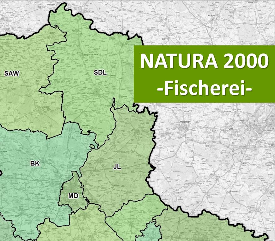 Interaktive Karte - Natura 2000 (Fischerei)